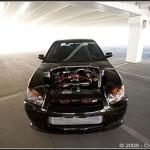 Subaru WRX Translucent hood