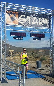 Calico Racing's Labor of Love | Half Marathon - Finish Line