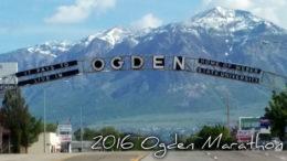 Ogden Marathon 2016 - City Sign