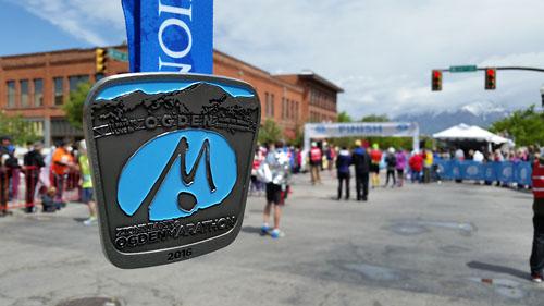 Ogden Marathon 2016 Finisher's Medal - Chris-R.net Race Report