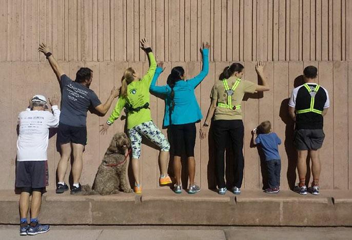 "Sin City Road Runners - Run Group - Hitting ""The Wall"" - Chris-R.net"