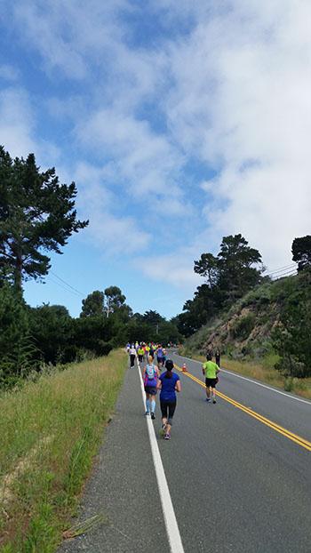 Big Sur Marathon - Blue Skies - Chris-R.net