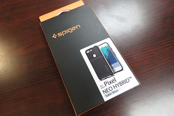 Spigen Neo Hybrid for Pixel review - case box - Chris-R.net