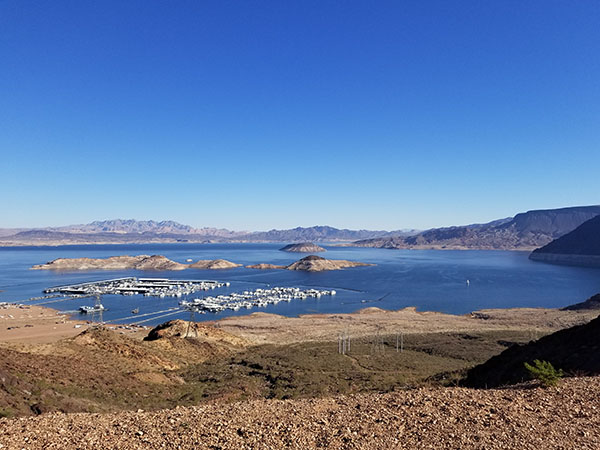 Lake Mead from Six Tunnels Trail - Saints & Sinners Half Marathon Race Report - Chris-R.net