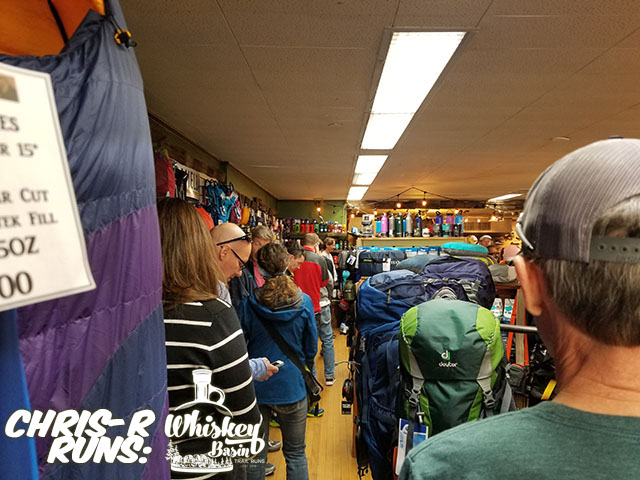 Whiskey Basin 88k Trail Run Packet Pick up - Chris-R.net