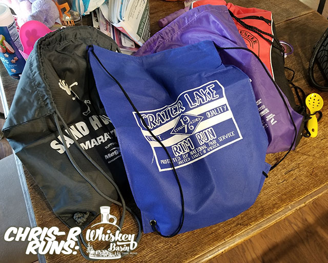 Whiskey Basin 88k Trail Run Drop Bag Prep - Chris-R.net