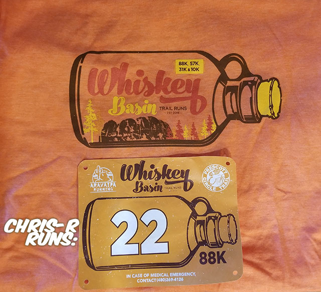 Whiskey Basin 88k Trail Run Bib & Shirt - Chris-R.net