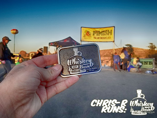 Whiskey Basin 88k Trail Run Belt Buckle Earned - Chris-R.net