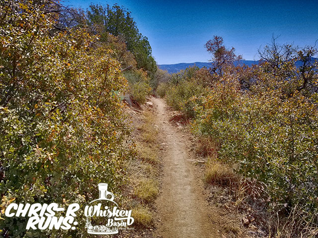 Whiskey Basin 88k Trail Run Trail 327 - Chris-R.net