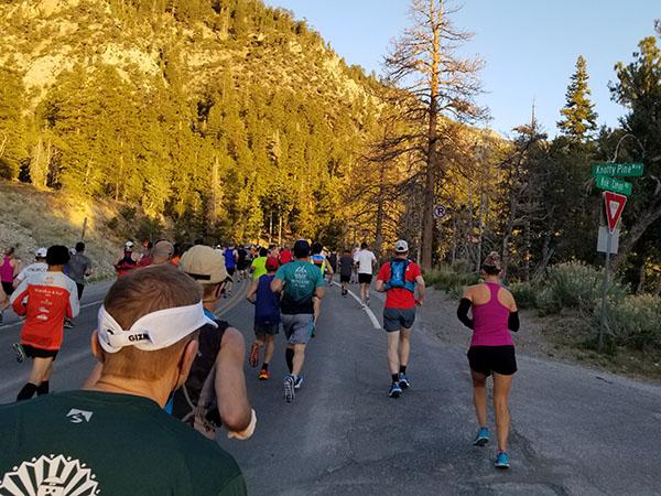 Revel Mt Charleston Marathon - Runners Descend! - Chris-R.net