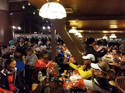 Revel Mt Charleston Marathon - Inside the Lodge - Chris-R.net