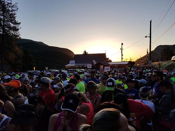 Revel Mt Charleston Marathon - Start Corral - Chris-R.net